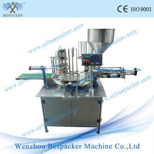 Jasmine Tea Plastic Bowl Sealing Machine pictures & photos