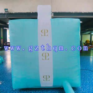 Gift Box Inflation Model/Advertising PVC Inflatable Model 5m Box with Oxford Cloth pictures & photos