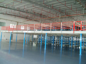 Space Full Utilized Steel Structure Platform