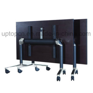Foldable Office Table with Melamine Table Top and Metal Table Base (SP-FT428) pictures & photos
