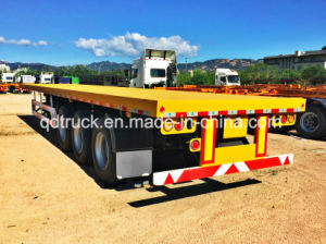 CIMC 3 axles flatbed trailer pictures & photos