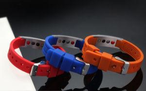 Fashion Negative Ion Bracelet with Multicolor Enamel Color (CP-JS-DW-005) pictures & photos