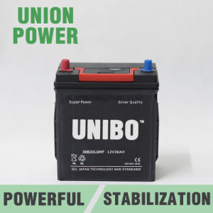 Auto Battery 38b20ls Mf JIS 12V36ah High Quality Car Battery pictures & photos