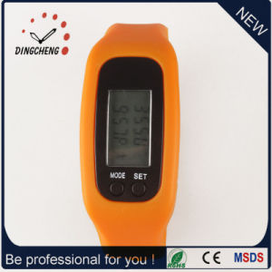 Silicone Strap Watches Sport Wristwatch Pedometer Watch (DC-001) pictures & photos