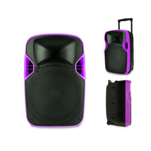 12 Inches Plastic Video Player LED Projection Loud Speaker pictures & photos