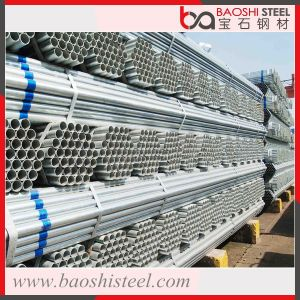 ASTM Black Steel Pipe Galvanized Pipe Hollow Seamless Pipe for Building pictures & photos