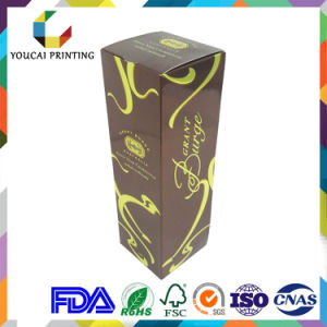 Luxury Foldable Wine Box with Gold Hot Stamping pictures & photos