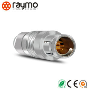 102 Series Circular Connector to International Three Flat Pins Plug with Cable Assembly pictures & photos
