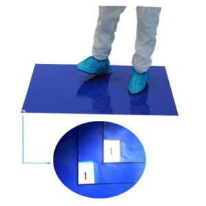 30layers Blue 40um Disposable Antistatic Sticky Clean Room Mats pictures & photos
