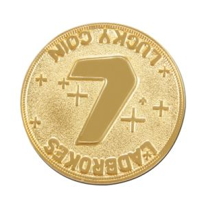 Customized Lucky Number Golden Coin for Sale (XD-0706-12) pictures & photos
