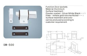 Lock/ Latch Finger Bolt for Doors and Windows (SM-500) pictures & photos