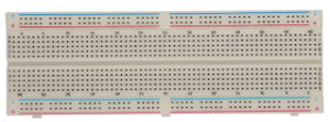 Hot Sale Solderless Breadboard with Double Row Distribution Strip (BB-102) pictures & photos