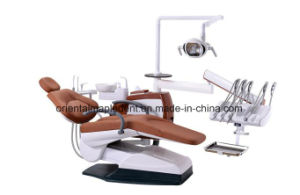 Ce Approved Top-Mounted Tray Dental Unit Chair pictures & photos