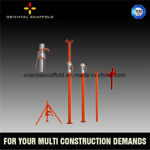 Adjustable Scaffolding Steel Shoring Props for Concrete Slab Casting pictures & photos