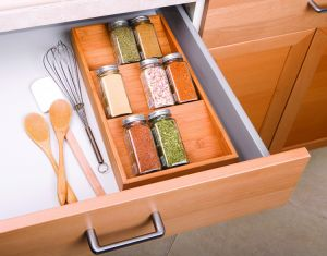 Tier Bamboo Box Bamboo Cabinet Drawer pictures & photos