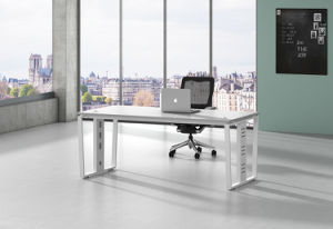 White Customized Metal Steel Office Staff Table Frame with Ht99-1 pictures & photos