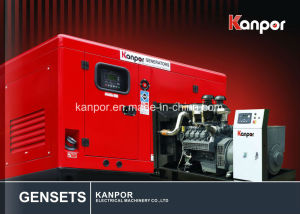 Good Price Silent Electric Generator! Kanpor with Deutz 300kw/375kVA Water Cooled Diesel Genset for Sale with Ce, BV, ISO9001 pictures & photos