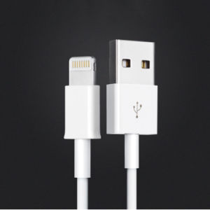 8pin Lightning PVC Insulated USB Charging Cable for iPhone pictures & photos
