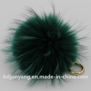 Fashionable Soft Raccoon Fur POM Poms for Sale pictures & photos