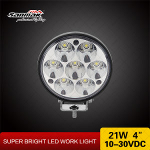 High Efficiency 4′′21W LED Work Lamps for Heavy Duty pictures & photos