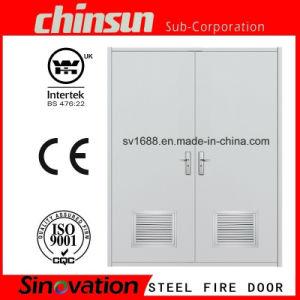 Double Steel Fire Door pictures & photos