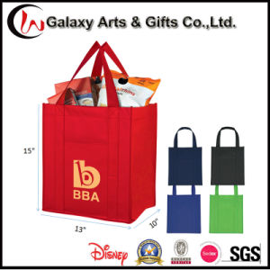 Cheap Printed Non Woven Recyclable Sgrocery Tote Reusable Shopping Bag pictures & photos