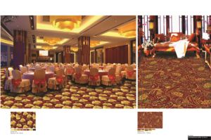 Axminster Wall to Wall Hotel Carpet pictures & photos