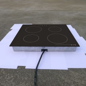 6000W Kitchen Appliance Built-in Four Burners Induction Hob Model Sm-Fic01 pictures & photos