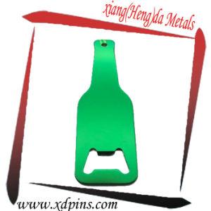 Simple Aluminum Rectangle Shape Bottle Opener pictures & photos