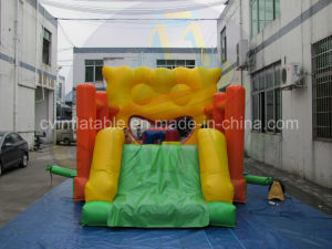 Cheap Inflatable Bouncer with Slide Combo for Sales pictures & photos