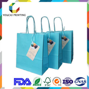 Printed Twist Handle Paper Carrier Bag pictures & photos