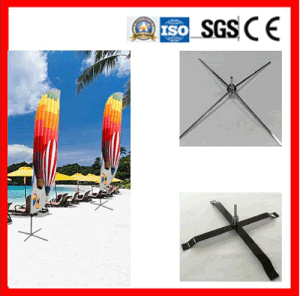 Flag Pole Systen for Indoor/Outdoor Advertising pictures & photos