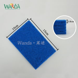 Kitchen Usage Cleaning Scrub Pad Cleaning Scouring Pad with Abrasive pictures & photos