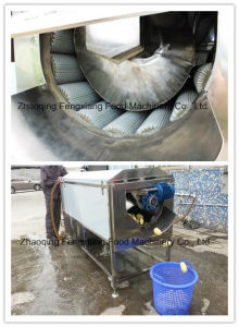Lxtp-3000 High Efficiency Potato Washing Peeling Machine, Carrot Washer Peeler Machine pictures & photos