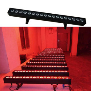 1m Long Wall Washer 18PCS Rgabwuv 6in1 LED Bar Lighting