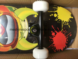 4 Wheel Canadian Maple Wood Skateboard OEM Manufacturer pictures & photos