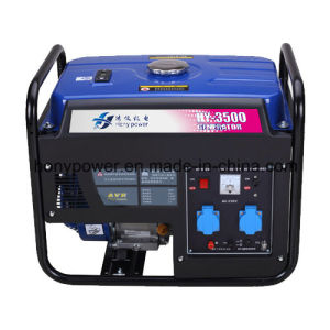 3.5kw Portable Gasoline Generator Electric Start Generator pictures & photos