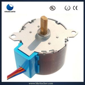 High Torque 2 Rpm 24V DC Motor pictures & photos