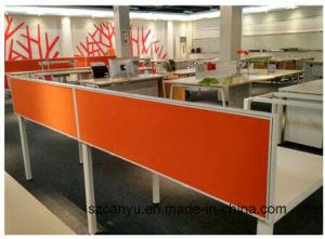 Office Desk Partition Wood/Aluminium Partition pictures & photos
