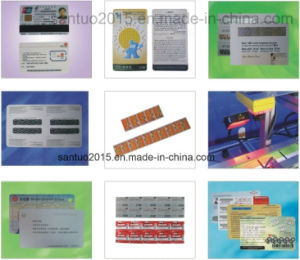 Santuo Scratch Card Personalization Equipment pictures & photos