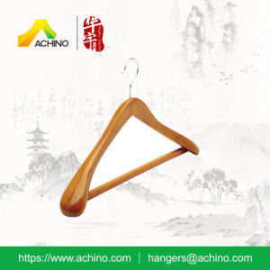 Extra Thick Wood Hanger for Clothes (ACH203) pictures & photos