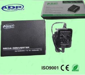 100m Single Fiber Media Converter (AC220V) pictures & photos