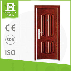 China Factory New Products Luxury Security Steel Door pictures & photos