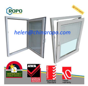 PVC Double Glazed Soundproof Windows, New Zealand Standard Windows pictures & photos
