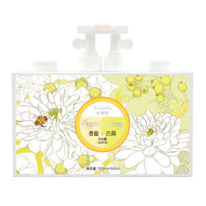 Dulenbe Honey & Oil Control Hair Shampoo 500ml+500ml pictures & photos