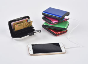 Ningbo Wholesale Rechargeable New Gift Power Bank and Wallet pictures & photos