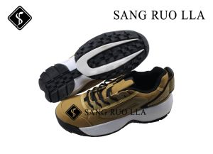 Sportland Running Shoe with Canvas Material pictures & photos
