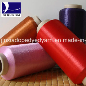 Polyester Filament Yarn Dope Dyed DTY 1000d/576f pictures & photos