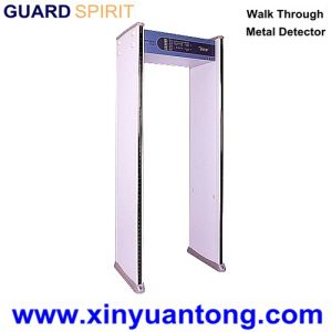 Cheap Ce Approved Multi Zone Portable Metal Detector Gate Price pictures & photos