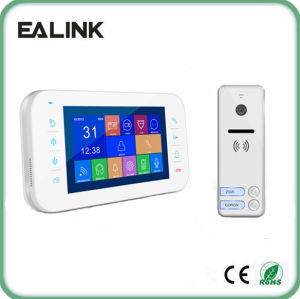 4 Wire Video Door Phone Intercom System Villa Use